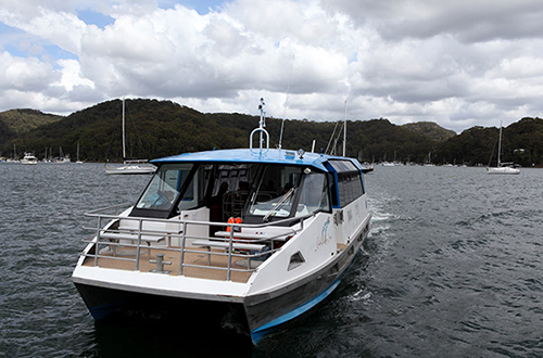 Church Point Ferry Service: find out about chartering a ferry
